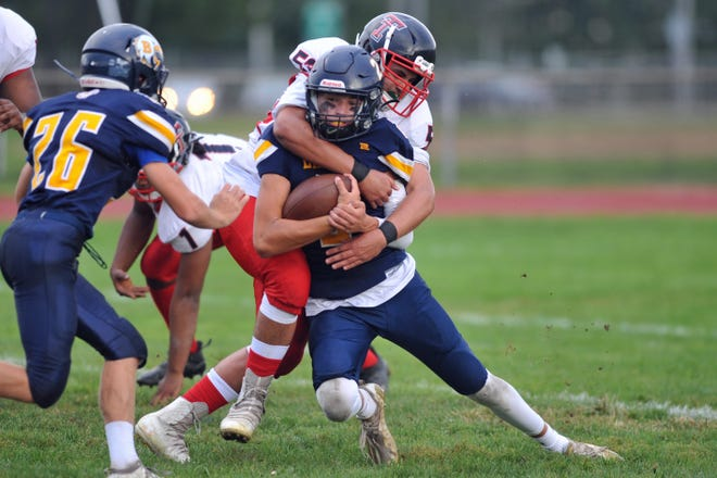 Barrington and Tolman played last Saturday. Over the weekend, Barrington was hit with COVID cases and now, both teams' games could potentially be off this weekend. Do either of these teams want that? No - but that's not what some on social media are saying.