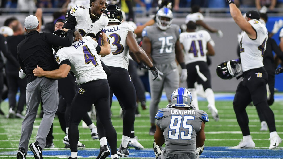 Lions lose heartbreaker on NFL record 66-yard field goal as time expires 2