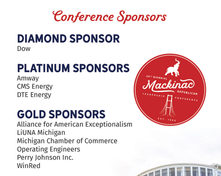 Insider: Labor unions help sponsor Michigan GOP conference