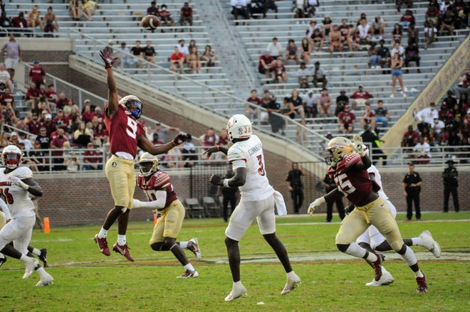 Florida State fell to the Louisville Cardinals at home on Saturday by a score of 31-23.