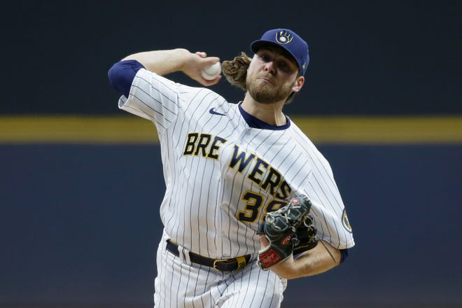 Corbin Burnes went 11-5 with a 2.43 earned run average, the best in the major leagues, and finished in the top three in every important pitching category.