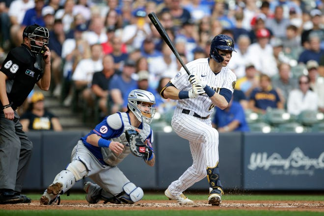 Christian Yelich struggled down the stretch, batting .211 in September/October with one home run, 10 RBI and .620 OPS.