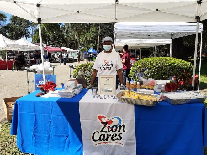 Zion Cares' Community Resource Fair took place Saturday, Sept. 25, 2021.