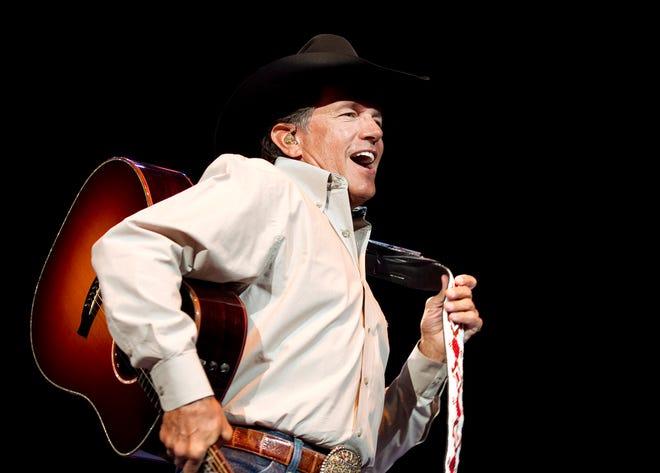 George Strait will headline both Fridays of the Austin City Limits Music Festival.