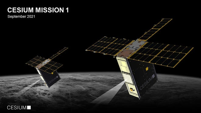 Austin-based CesiumAstro successfully launched two satellites into space Monday, containing its proprietary communications technology.