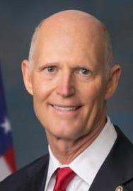 U.S. Sen. Rick Scott, R-Florida, blames the expanding national debt on Democrats.