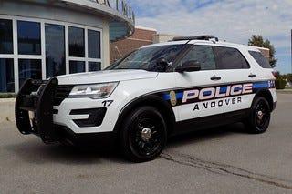 Andover Police Car