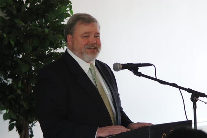Darin Chappell pictured in a 2019 file photo at a Chillicothe Area Chamber of Commerce event.
