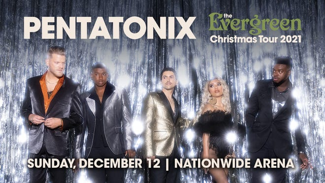 Tickets go on sale Friday for Pentatonix playing Nationwide Arena on Dec. 12.
