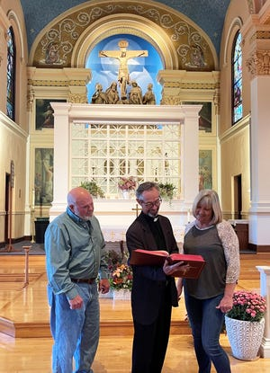 Gary Galka, Fr. Stephen Moran and Eva Carter will be part of a series to be presented at St. Mary Catholic Church in Wooster titled Catholics Returning Home.
