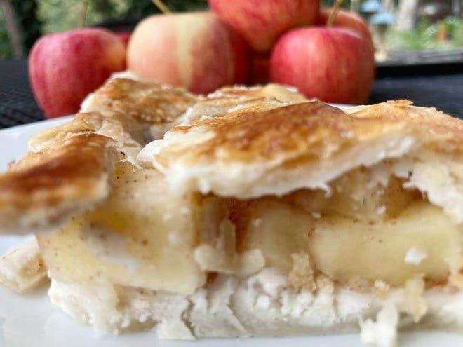 Gloria's apple pie squares.