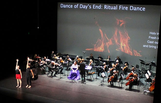 Over 200 people attended the Saturday,Sept. 18 concert by the Great Lakes Chamber Orchestra at the Great Lakes Center for the Arts.