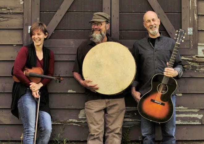 The Boundarywater Trio consists of (from left) Stephanie Cope, Gary Schils and Bill Wilson.