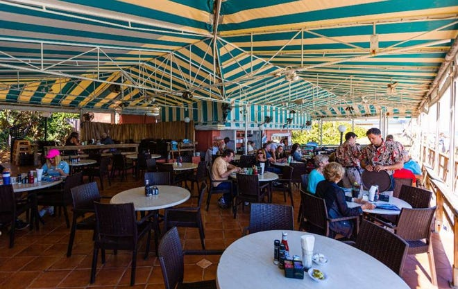 The Dune Deck in Lantana was closed following a recent inspection. The eatery corrected all the violations and reopened the next day.