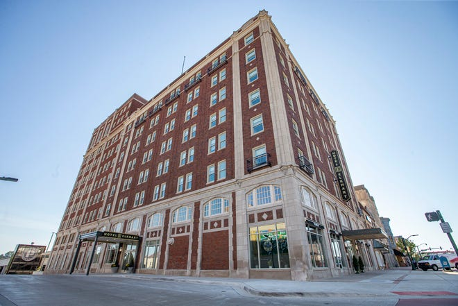Hotel Elkhart on Monday, Sept. 27, 2021, in downtown Elkhart.  The hotel will officially open on Tuesday.