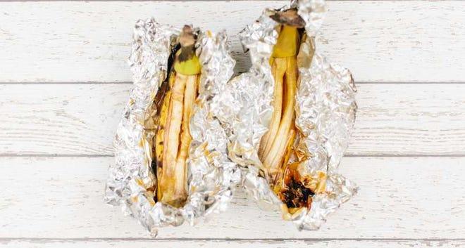 Campfire Bananas Foster