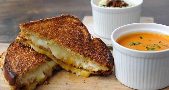 Grilled Blue Cheese & Prosciutto Sandwich