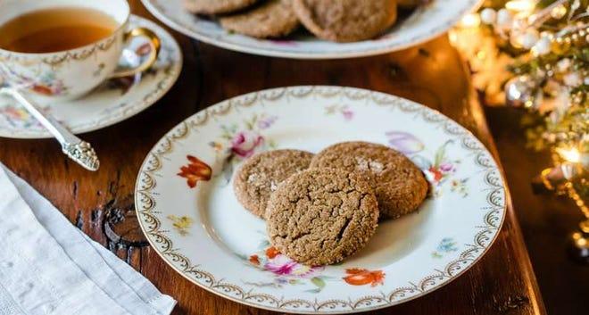 Virginia Willis' Spicy Golden Gingersnaps