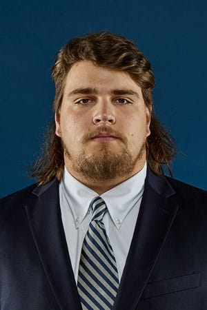 Georgia Southern redshirt-senior nose tackle Gavin Adcock was removed from the team Sunday, interim head coach Kevin Whitley has announced.