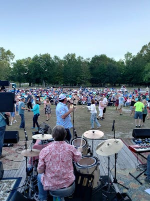 The town of Leland concerts in the park returned Thursday, Sept. 30, at Founders Park.