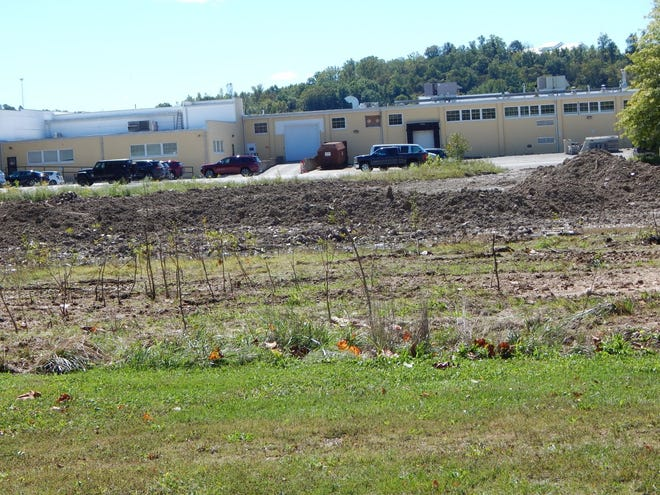 The lot on Sinclair Street behind CVS is being cleared by Blue Sky Casino.
