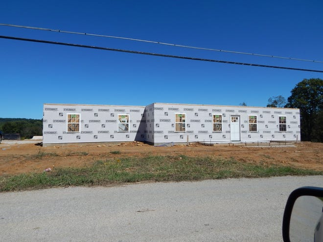 The second house for Orange County workers is going up in the French Lick Resort's development on Abbeydell Pike. A $1 million grant from the Indiana Housing & Community Development is helping pay for the housing.