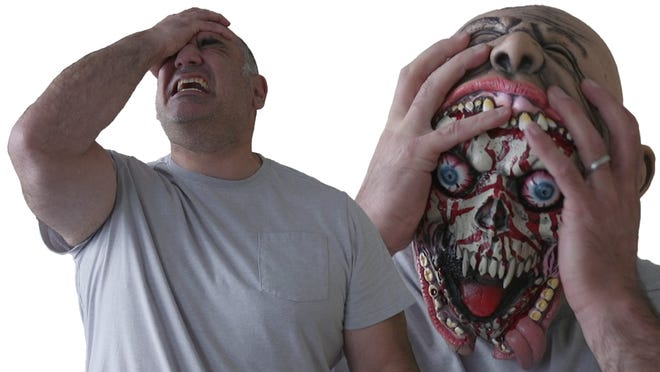 Mark Arvanigian's family business, Halloween Outlet, has closed for good, but he continues to design original masks available for purchase on the popular ecommerce Halloween site, Deja Boo.