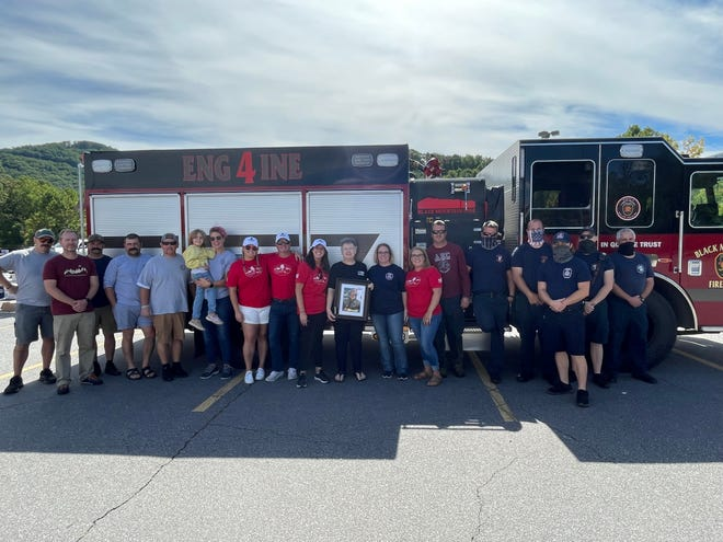 Locals held a drive-thru benefit on Sept. 25 for the family of Garrett Presnell.