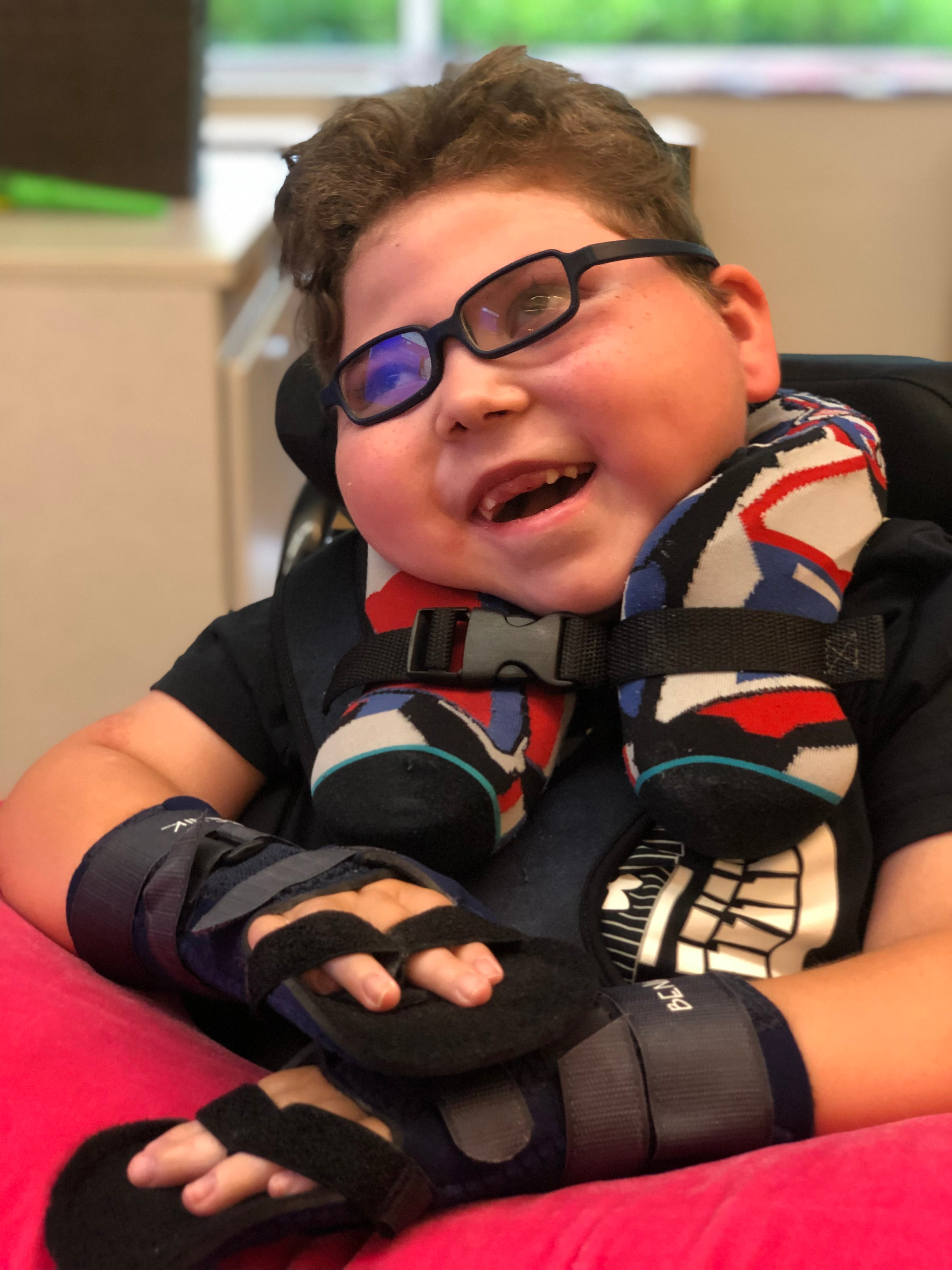 Michigan child, 7, remembered for expressing boundless love despite rare disorder