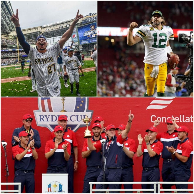 On Sunday, Wisconsin sports fans got a treat with a big Brewers and Packers moment on the same day, not to mention the finish of the Ryder Cup at Whistling Straits.