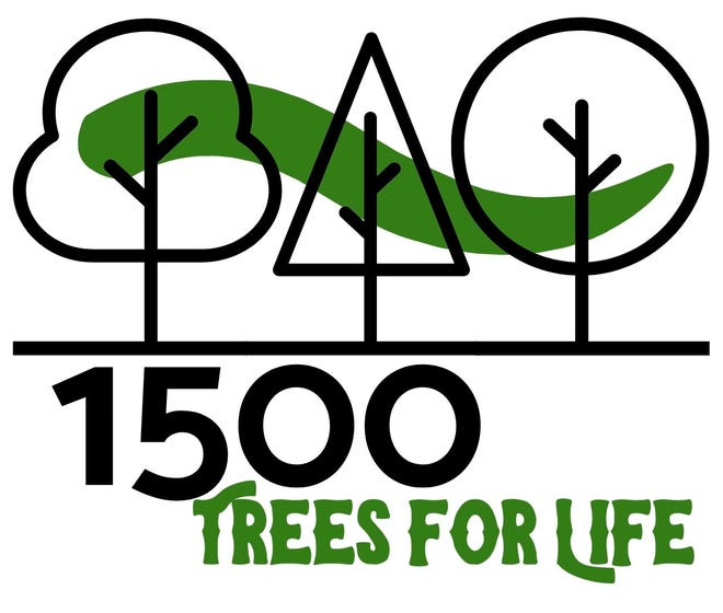 The 1500 Trees for Life public service project kicked off in late 2019 as a mission project of First Presbyterian Church of Granville.