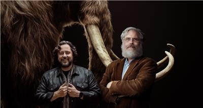Co-founders of Colossal, Ben Lamm, left, and Dr. George Church.