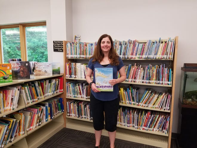 The Madrid Public Library has several spooky events planned for October, plus its regular offerings. Library Director Angie Strong (pictured) said COVID-19 has resulted in a decrease in foot traffic to the library.