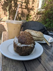Grab a coffee and pastry and sit outside at Jersey Java.