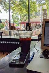 Grooveground Coffee offers a nice spot to study or work.