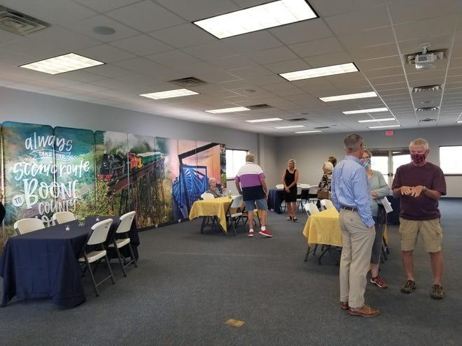 Boone County Convention & Visitors Bureauheld an open house on Sept. 14.