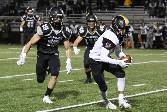 Upper Arlington's Sam Cannon (right) earned our Player of the Week honor for Week 6, based on a staff vote.