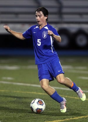Senior Nick Eddy's position switch from outside midfielder to center-attacking midfielder gave Bexley a midseason boost. The Lions won four of their first six games after the switch, which started with a3-1 win Sept. 8 at Granville.