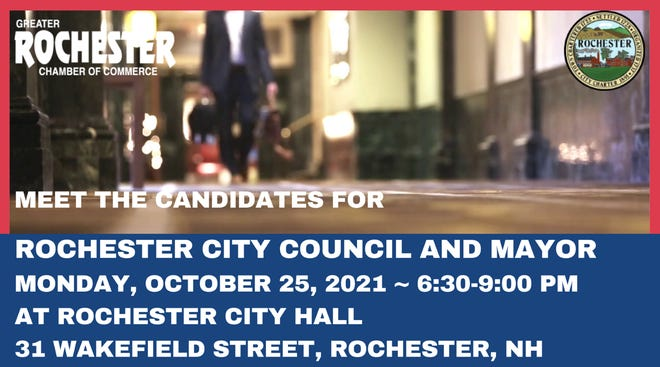 Greater Rochester Chamber of Commerce to conduct Candidate's Forum for Rochester City Council and Mayor on Oct. 25.