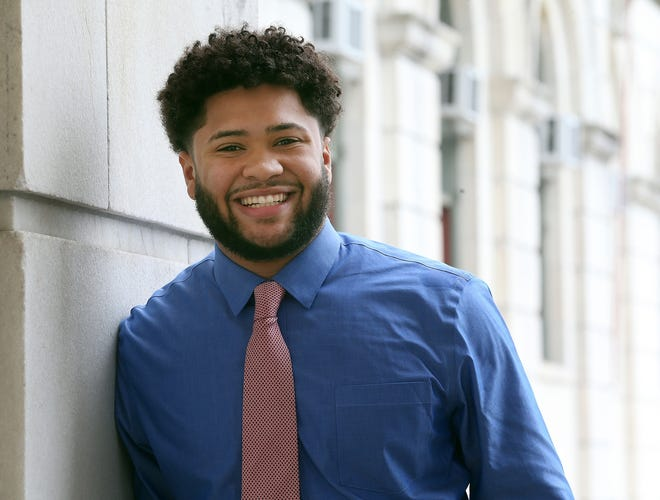 Harrison Tuttle, leader of the Black Lives Matter R.I. Political Action Committee, is a candidate for the General Assembly.