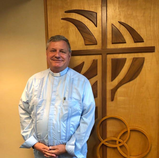 Pastor Tim Mason was installed as Pastor of Trinity Lutheran Church on Sunday, Sept. 26.