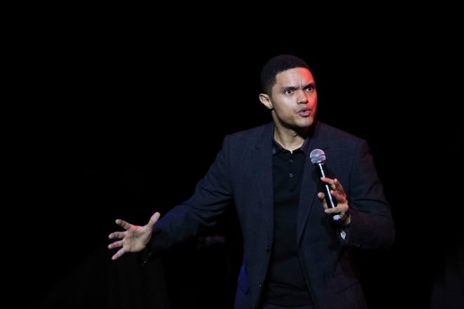 Comedian Trevor Noah, seen here performing at Madison Square Garden in 2017, is one of the many comedians set to visit Florida in October, November and December.