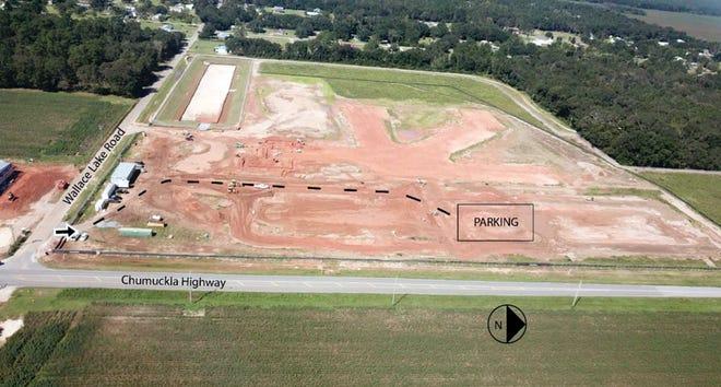 The groundbreaking for the new kindergarten through eighth grade school is scheduled in October.