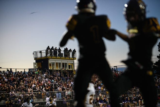 Here's this week's schedule and scores for local high school football teams