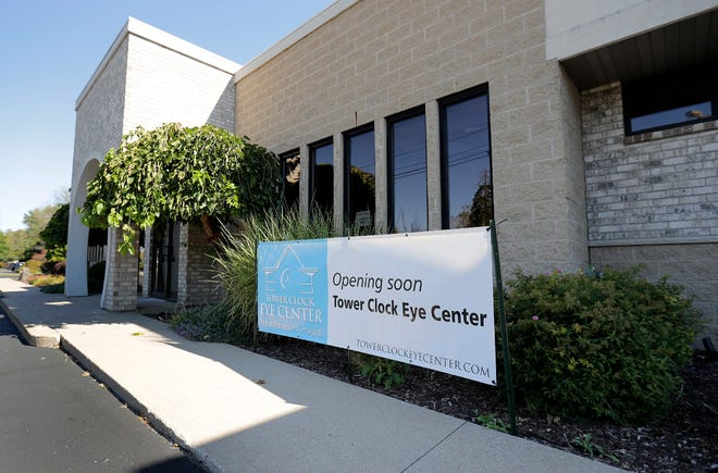 The former Salon CTI building at 3142 N. Richmond Street has been purchased by Tower Clock Eye Center of  Green Bay.