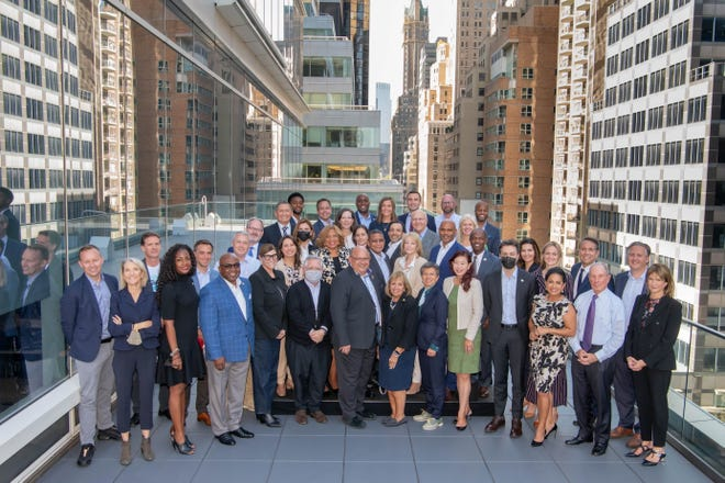 Corpus Christi Mayor Paulette M. Guajardo (front row, third from right) was one of 38 mayors chosen from aroundthe world to learnthe latest management practices as part of the Bloomberg Harvard City Leadership Initiative.
