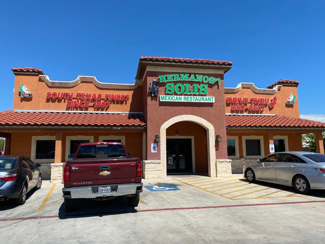 Hermanos Solis Mexican Restaurant is located at 3514 Baldwin Blvd., 5409 Leopard St. and 470 Old Robstown Road.