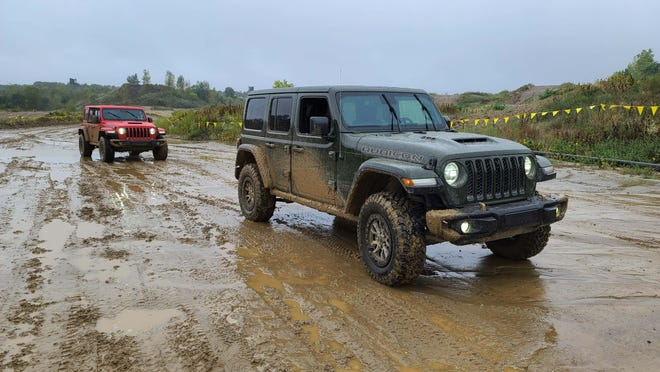 Wet conditions are no match for the 2021 Jeep Wrangler 392.