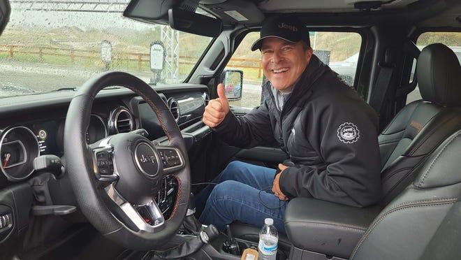 Jeep CEO Jim Morrison rides shotgun in a 2021 Wrangler 392.