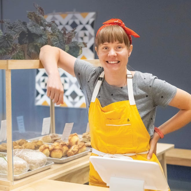 Jeannie Hall opened a bakery on Wade Hampton Boulevard almost two years ago.